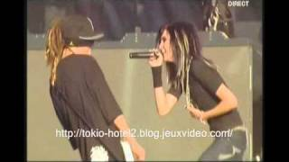 Tokio Hotel -  durch den monsun (live paris tour eiffel megashow).wmv