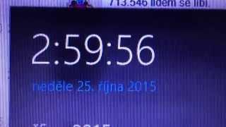 Konec letního času 25.10. 2015