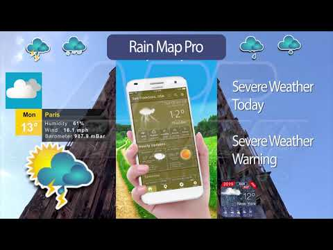App rain today  Rain Alarm  2019-05-14