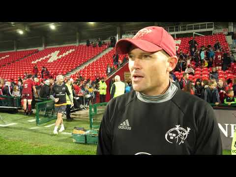 Jacques Nienaber On His Time with Munster
