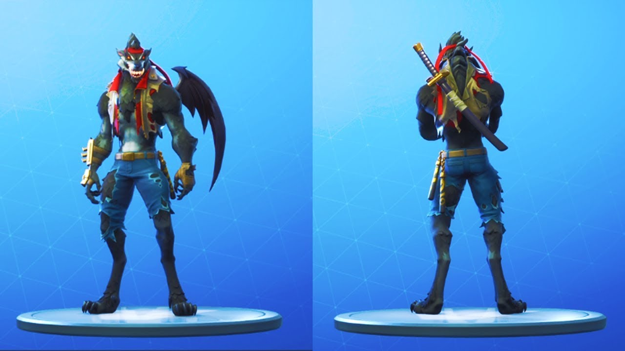 New Wolfpack Back Bling Unlocked Stage 6 Max Dire Black