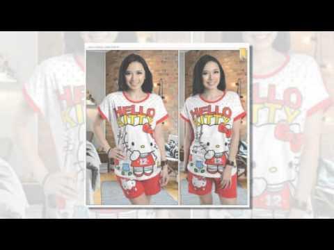 Baju Hello Kitty Yang Lucu Youtube