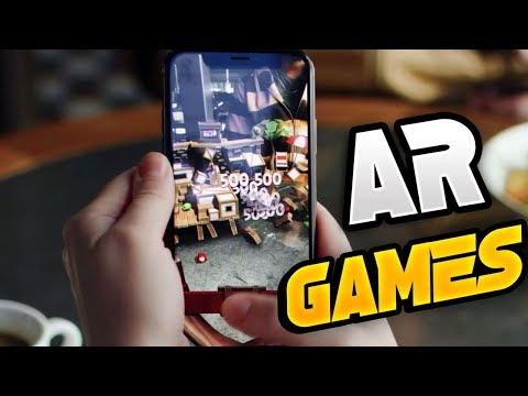 Top 10 Best New Augmented Reality Games For Android 2019 (AR GAMES)