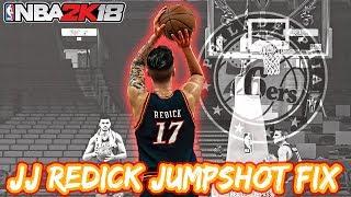 JJ Redick Jumpshot Fix - NBA 2K18