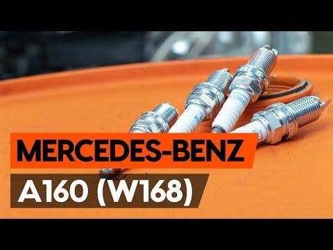 Jak Wymienić świece Zapłonowe W MERCEDES-BENZ A160 (W168) [TUTORIAL AUTODOC]