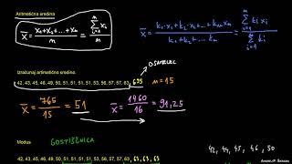 Primerjava srednjih vrednosti