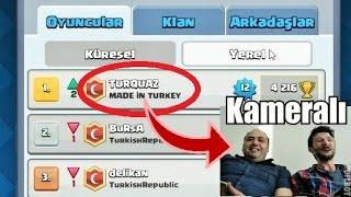 Türkiye 1.si ile Dostluk Maçı !!! Clash Royale
