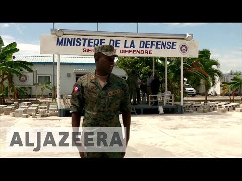Concerns over Haiti push to reinstate army disbanded after coup