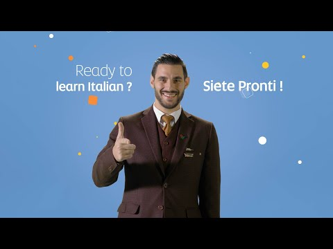 Learn Basic Italian with our Cabin Crew | Etihad@Home