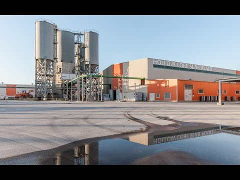 Elematic reference: Hanwha E&C_World's largest precast concrete factory