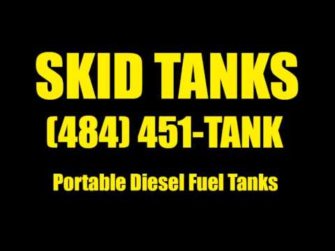 How to Rent Skid Tanks | 484-451-TANK