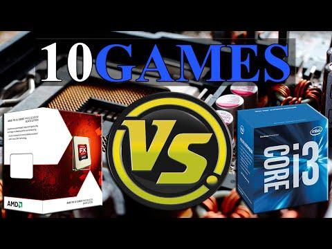 FX-6350 vs i3-6320 | GTX 970 OC | 1440p | in 10 Games