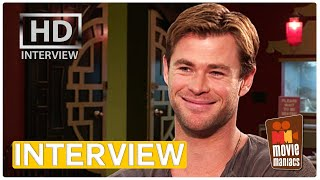 Ghostbusters | Chris Hemsworth talks about the girls, ghosts and his dancing scene (Interview)