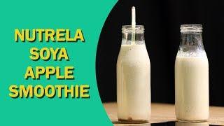Soya Apple Smoothie   Apple Cinnamon Smoothie   एप्पल स्मूदी   How to Make Apple Smoothie   Food Tak