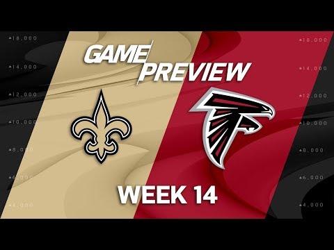 New Orleans Saints vs. Atlanta Falcons   NFL Week 14 Game Preview   NFL Playbook