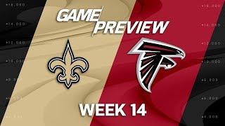 New Orleans Saints vs. Atlanta Falcons | NFL Week 14 Game Preview | NFL Playbook