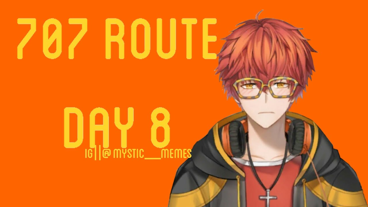 Mystic Messenger Seven Day 8 Requested Youtube