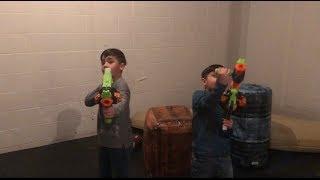 The Knight Boys - Fortnite Nerf Gun Challenge