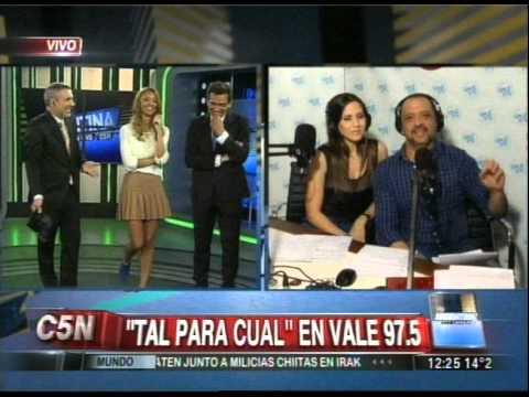 C5N - ARGENTINA EN VIVO: DUPLEX CON TAL PARA CUAL EN VALE FM 97.5