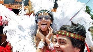 Rihanna - Barbados Crop Over 2013 - Carnival Live TV