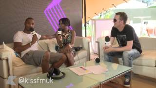 Trey Songz on Snoop, performing live and more | Wireless Festival