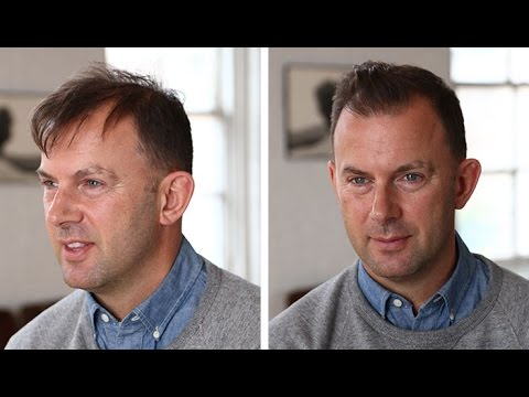 Men S Hairstyle Tutorial Thin Or Thinning Hair Youtube