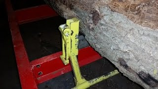 Homemade Sawmill Log Clamps