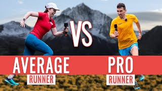 Race To The Top | Average Runner VS Pro Mountain Runner