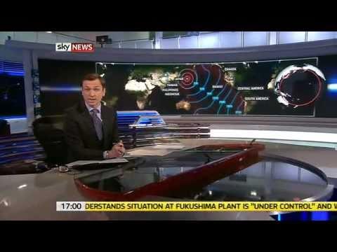 Sky News: Live at Five - Japan Earthquake - Day 1