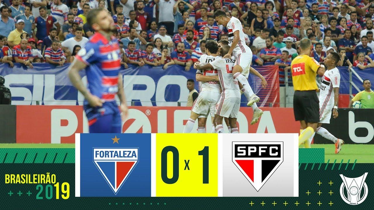 Assistir Ao Gol Lances E Melhores Momentos De Fortaleza 0 X 1 Sao Paulo Futebol Ao Vivo Futebol Stats