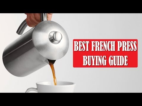 Best French Press Coffee Maker – Buying Guide