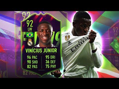 FUTURE STAR VINICIUS JUNIOR 92! WORTH OVER 1,800,000 COINS? FIFA 19 ULTIMATE TEAM