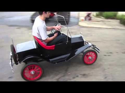 mini ford model t roadster on youtube. Black Bedroom Furniture Sets. Home Design Ideas