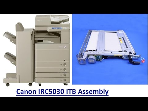 how to change canon 7130 cartridge