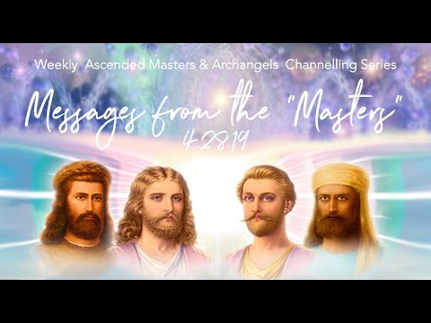 Twin Flame Archangels & Ascended Masters Messages 4 28 19