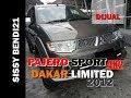 Review mobil bekas Mitsubishi Pajero Sport 2.5 Dakar Limited 2012