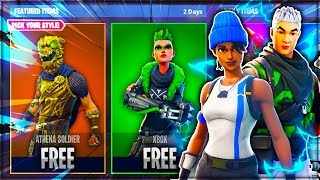 New FREE SKINS Update! - How To Get FREE SKINS In Fortnite Battle Royale (New Fortnite Skins Update)