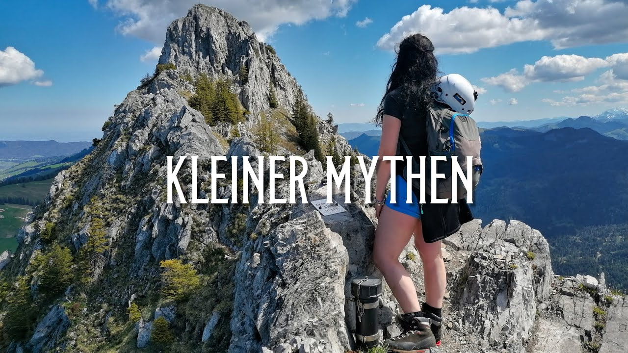 Download Kleiner Mythen 1811m / Short but Very Exposed hike on this iconic Mythen summit / from Brunni