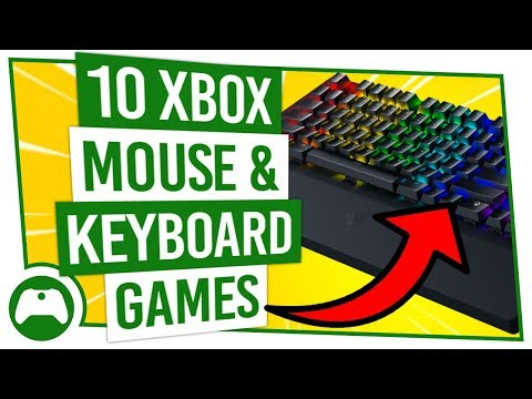 10 Xbox Games With MOUSE & KEYBOARD Support