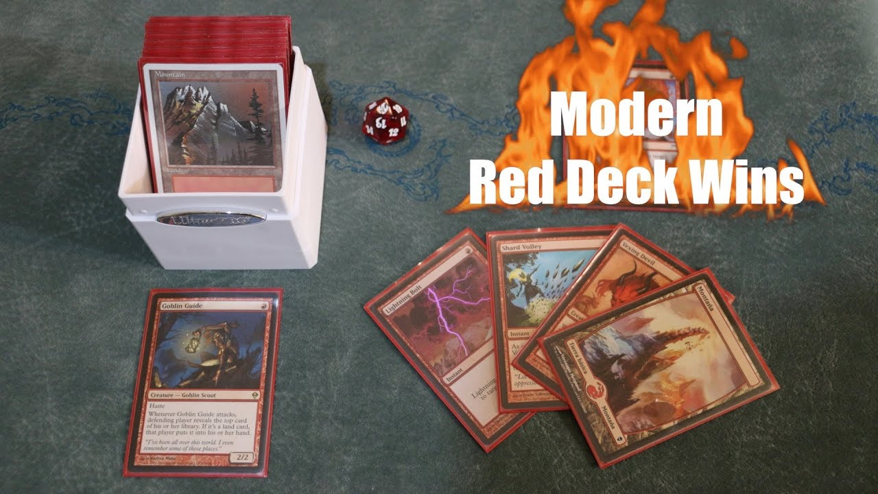 Are You Still Not Playing Modern? Blast In With Red Deck