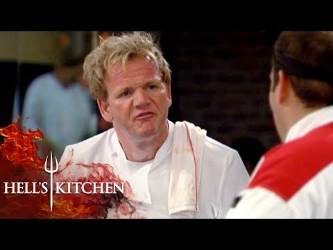 Gordon Gets Angry Over Matt Telling Him To 'Shut Up' | Hell's Kitchen