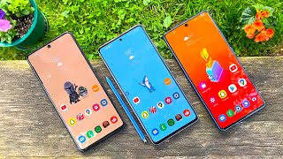 Samsung Galaxy A71 vs Note 10 Lite vs S10 Lite