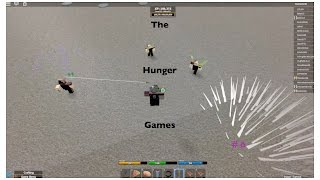 Roblox- Hunger Games #6
