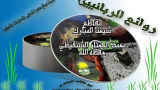 قصة لرجل مشلول شفاه الله بدعاءه في بيت الله الحرام-الشيخ الشنقيطي