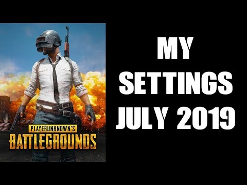 PUBG My Console Controller Settings July 2019 PS4 Xbox One