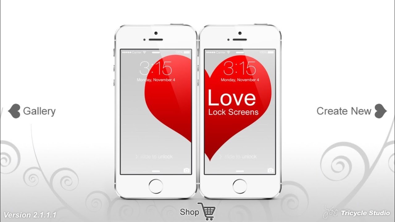Love Lock Screens Cool Wallpaper App For Couple