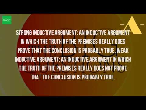 Types of arguments inductive argument: an argument in which the.