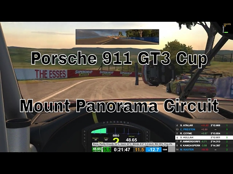 iRacing - Porsche 911 GT3 Cup - Mount Panorama Circuit - 2017 S1 W7