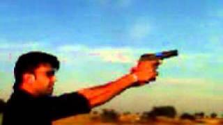 Testing Pistol in Pindi Gheb surrounding area