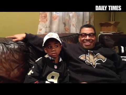 New Orleans native Kyle Davis has resided in Chester since 1996. He has been a Saints fan since the